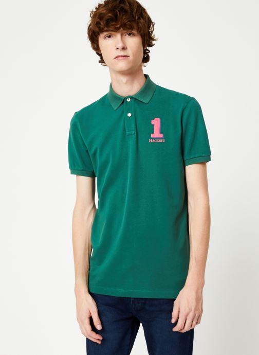 Vêtements Hackett London NEW CLASSIC Vert vue droite