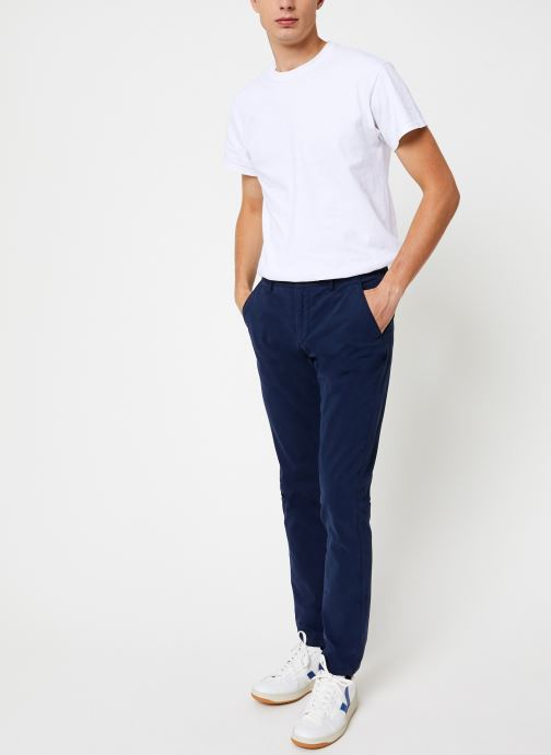 Vêtements Hackett London GMT DYE TEXTURE Bleu vue bas / vue portée sac