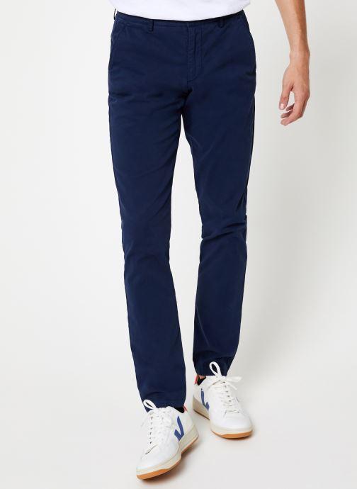 Vêtements Hackett London GMT DYE TEXTURE Bleu vue détail/paire