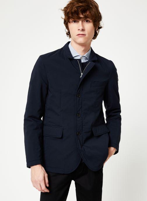 Vêtements Hackett London NYLON BLAZER Bleu vue droite