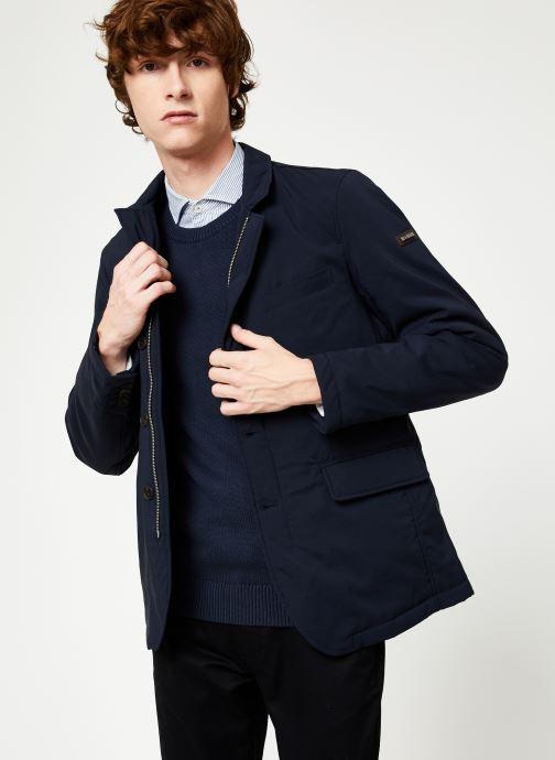 Vêtements Hackett London NYLON BLAZER Bleu vue détail/paire