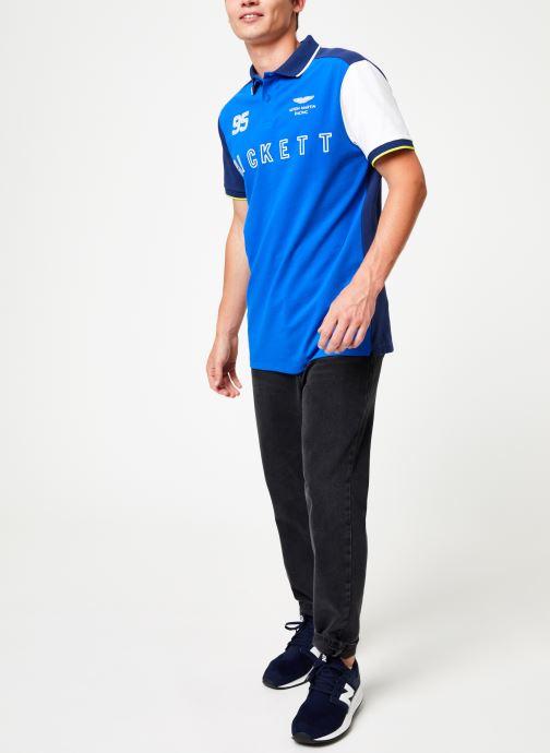 Vêtements Hackett London AMR MULTI Bleu vue bas / vue portée sac
