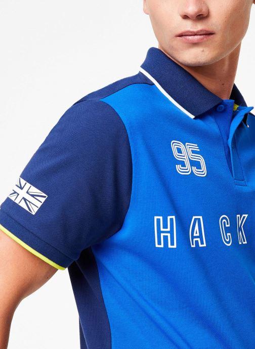 Vêtements Hackett London AMR MULTI Bleu vue face