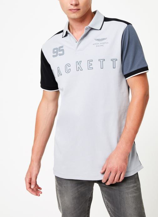 Vêtements Hackett London AMR MULTI Blanc vue droite