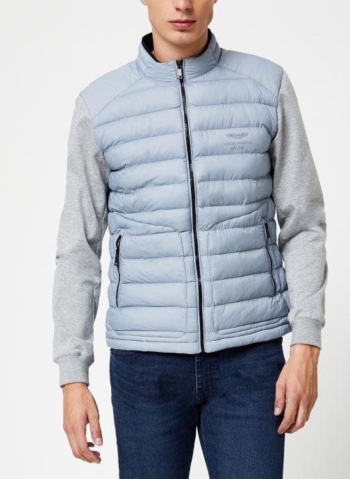 Vêtements Hackett London AMR HYBRID MOTO Gris vue détail/paire