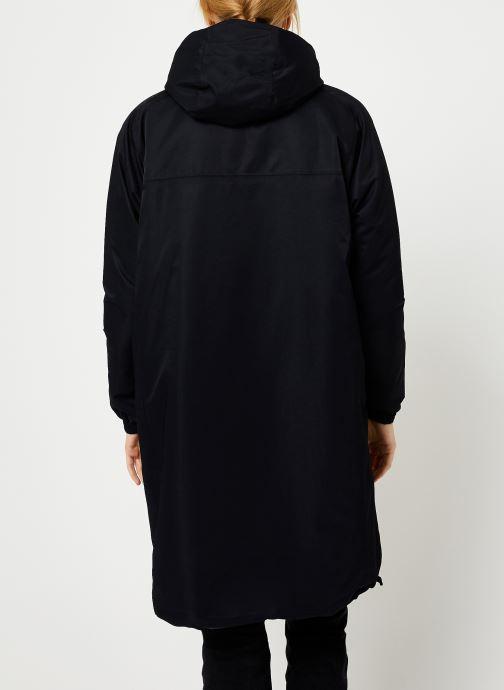 Vêtements K-Way  CLELIE NYLON FUR Noir vue portées chaussures