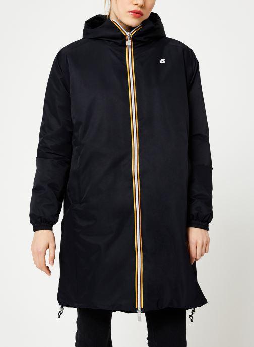Vêtements K-Way  CLELIE NYLON FUR Noir vue détail/paire