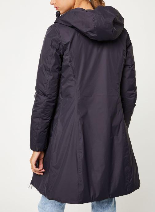 Vêtements K-Way  CHARLENE THERMO PLUS DOUBLE Noir vue portées chaussures