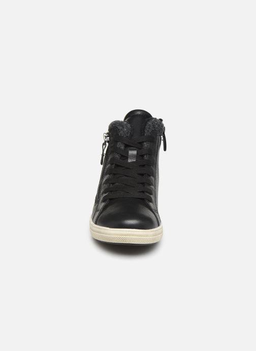 Baskets I Love Shoes SATCH Noir vue portées chaussures