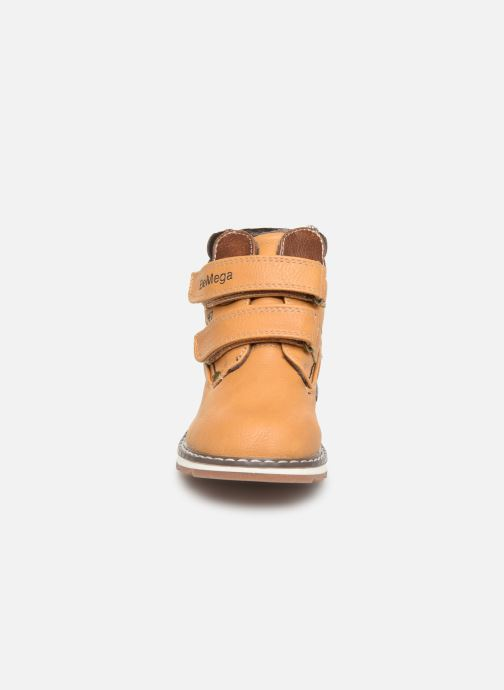 Stivaletti e tronchetti I Love Shoes SUNDY Marrone modello indossato
