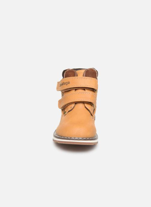 Boots en enkellaarsjes I Love Shoes SUNDY Bruin model