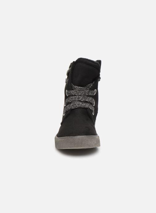 Botines  I Love Shoes SUEDA Negro vista del modelo