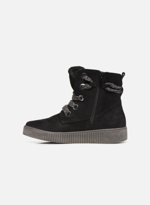 Boots en enkellaarsjes I Love Shoes SUEDA Zwart voorkant