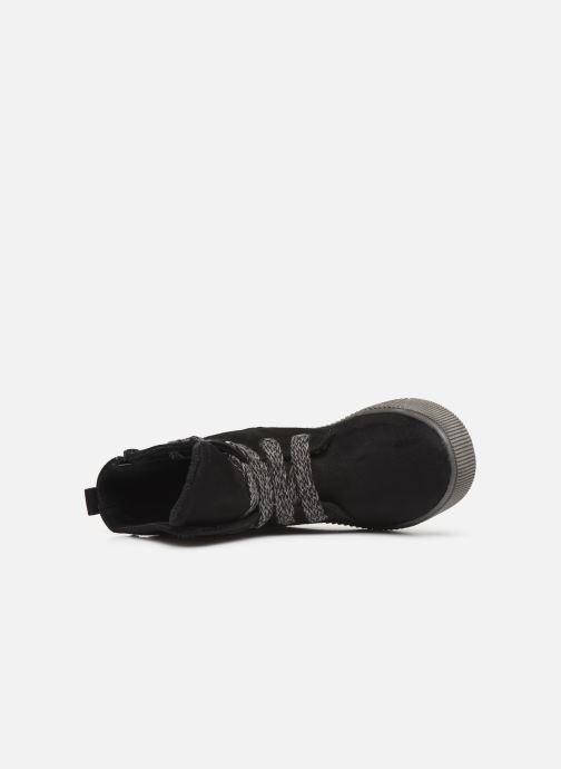 Boots en enkellaarsjes I Love Shoes SUEDA Zwart links