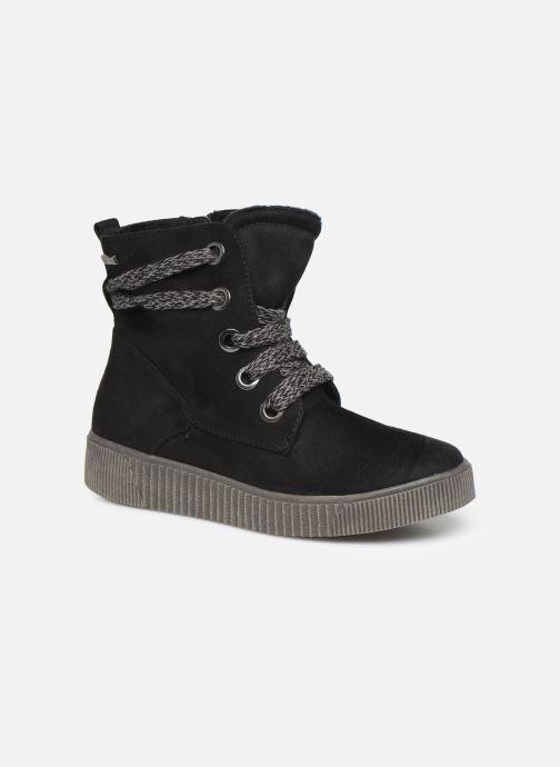 Botines  I Love Shoes SUEDA Negro vista de detalle / par