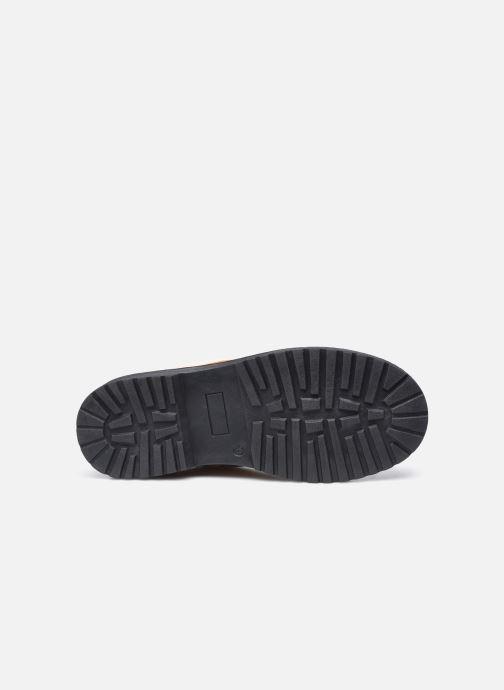 Stivaletti e tronchetti I Love Shoes SULIE Giallo immagine dall'alto