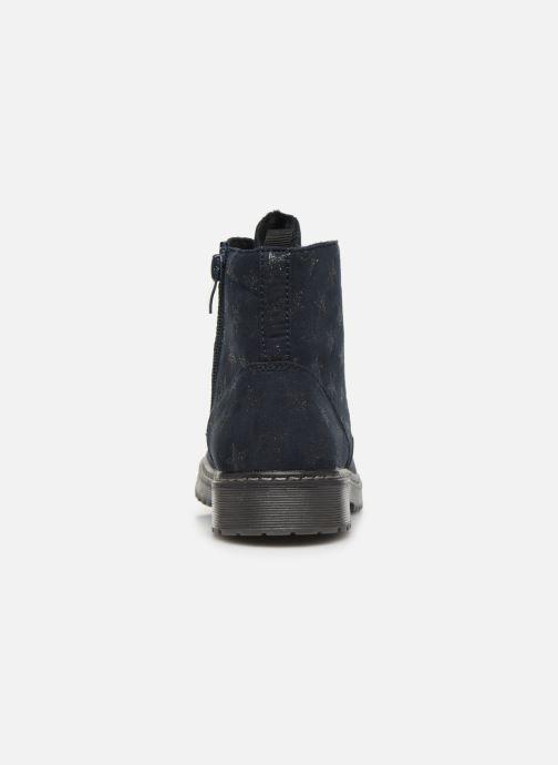 Botines  I Love Shoes STRATELLA Azul vista lateral derecha