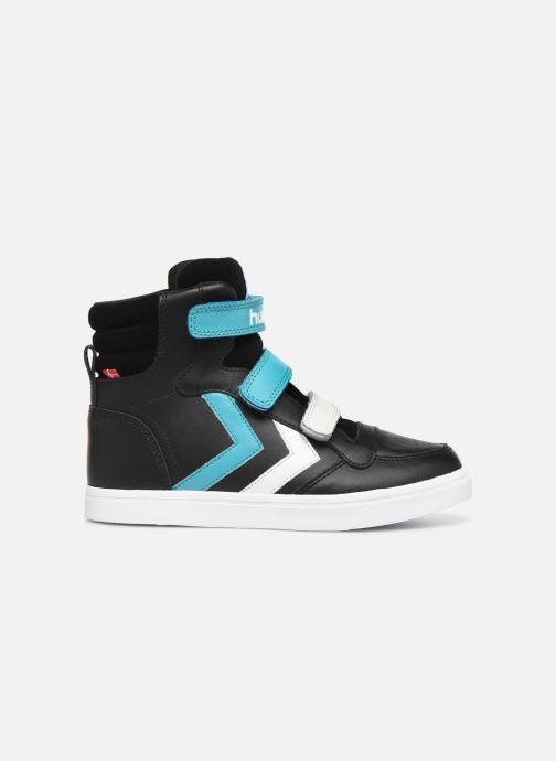 Sneaker Hummel Stadil Pro JR schwarz ansicht von hinten