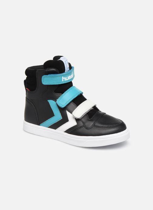 Sneaker Hummel Stadil Pro JR schwarz detaillierte ansicht/modell