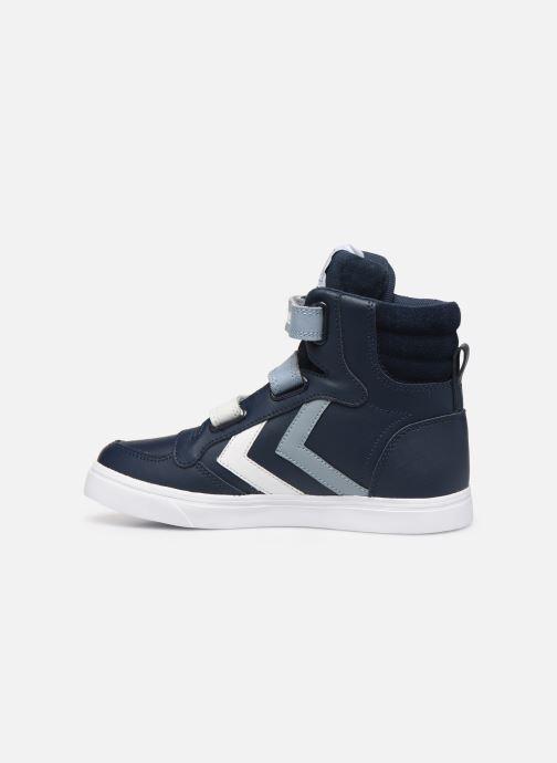Sneakers Hummel Stadil Pro JR Blauw voorkant