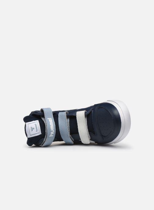 Sneakers Hummel Stadil Pro JR Blauw links