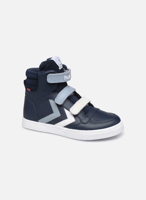 Sneakers Hummel Stadil Pro JR Blauw detail