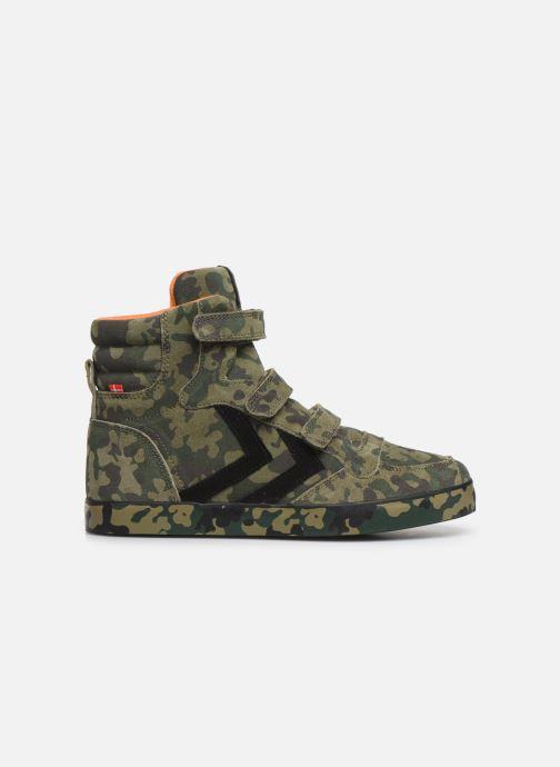 Sneaker Hummel Stadil Pro JR grün ansicht von hinten