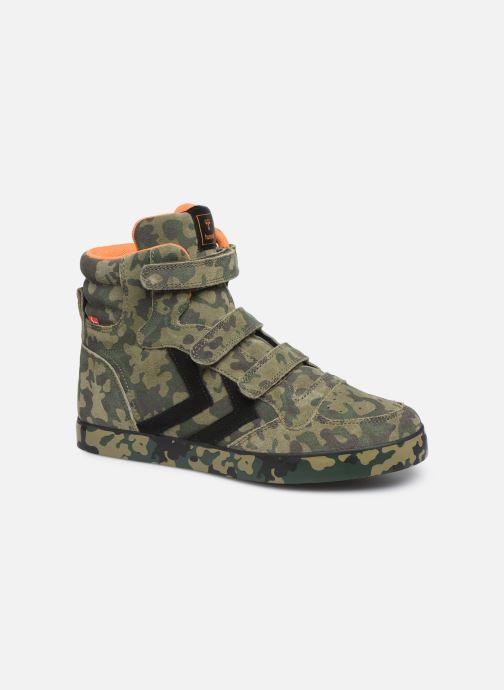 Sneaker Hummel Stadil Pro JR grün detaillierte ansicht/modell