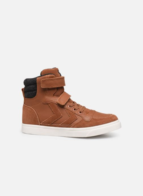 Trainers Hummel Stadil Winter High JR Brown back view