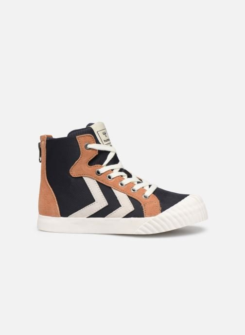 Sneakers Hummel Stadil Mid JR Blauw achterkant