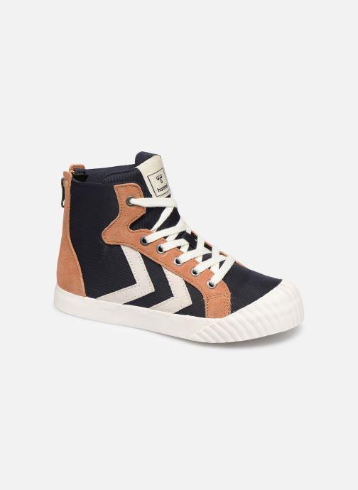 Sneakers Hummel Stadil Mid JR Blauw detail