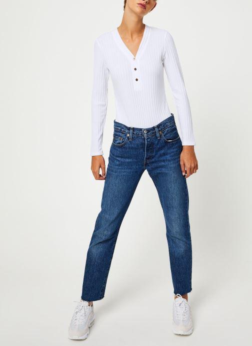 Vêtements Garance CIEL Blanc vue bas / vue portée sac