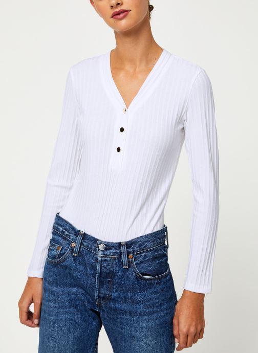 Vêtements Garance CIEL Blanc vue détail/paire