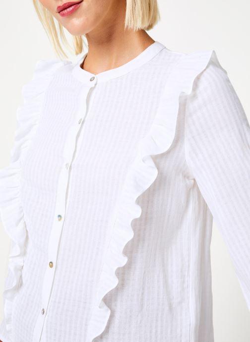 Vêtements Garance CHALVA Blanc vue face