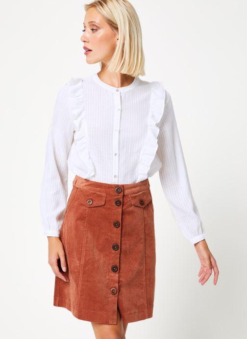 Vêtements Garance CHALVA Blanc vue droite