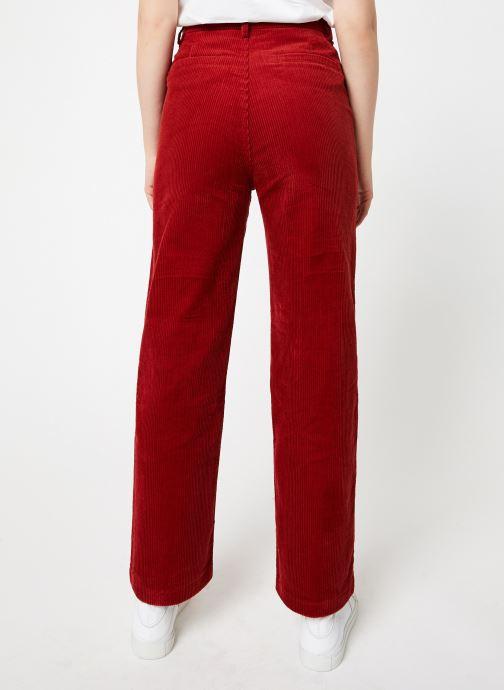 Vêtements Garance CORLY Rouge vue portées chaussures