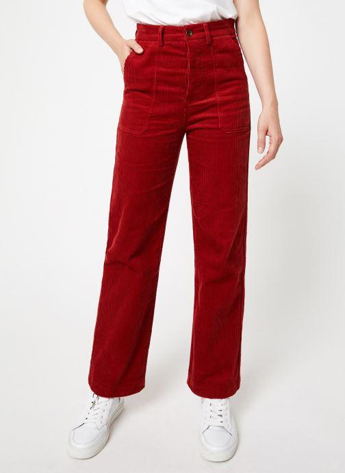 Tøj Garance CORLY Rød detaljeret billede af skoene