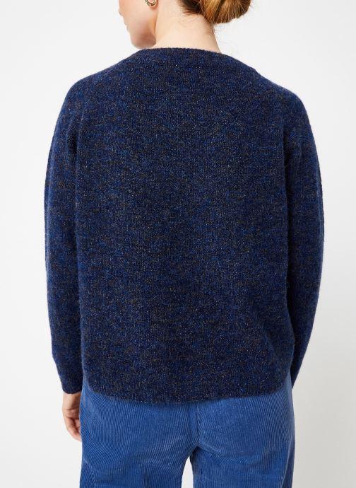 Vêtements Garance CLAVIER Bleu vue portées chaussures