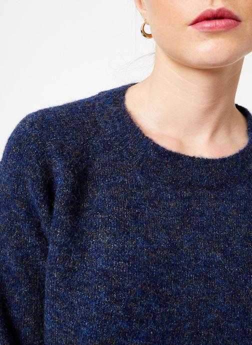 Vêtements Garance CLAVIER Bleu vue face