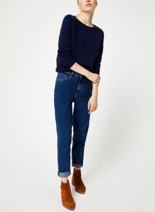 Vêtements Garance CLAIRAC Bleu vue bas / vue portée sac