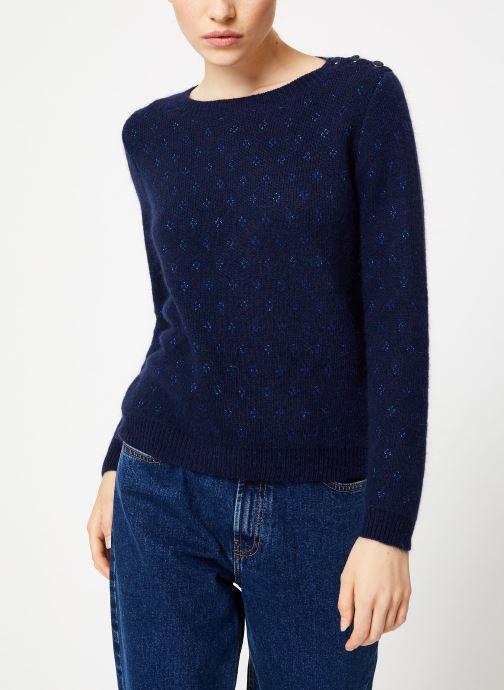 Vêtements Garance CLAIRAC Bleu vue droite