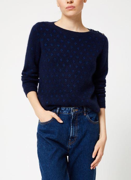 Vêtements Garance CLAIRAC Bleu vue détail/paire