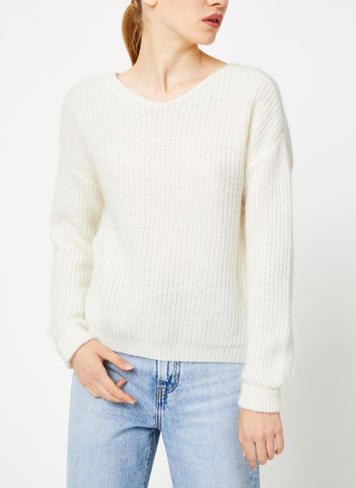 Vêtements Garance CLARINA Blanc vue détail/paire
