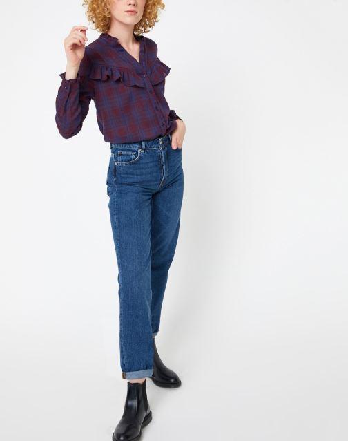Vêtements Garance CHAMANE Violet vue bas / vue portée sac