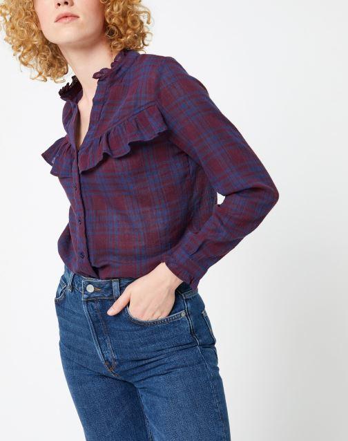 Vêtements Garance CHAMANE Violet vue détail/paire