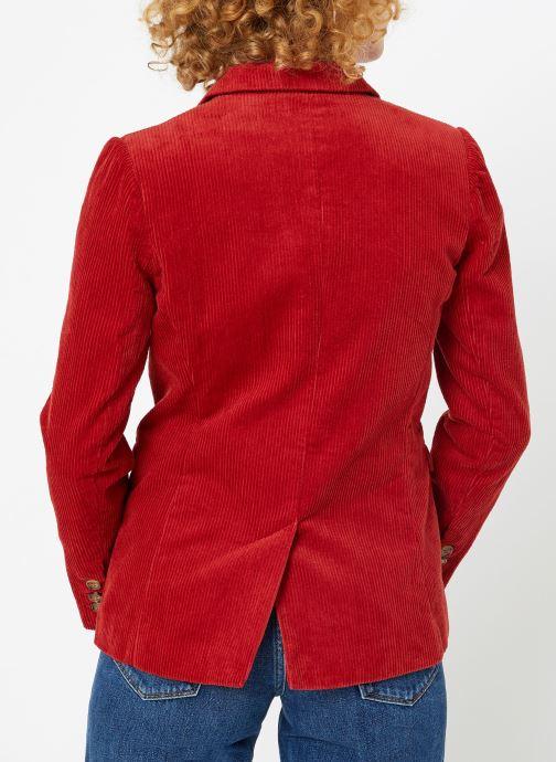 Vêtements Garance CASSANDRE Rouge vue portées chaussures
