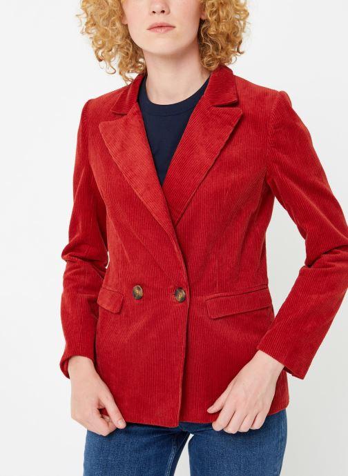 Vêtements Garance CASSANDRE Rouge vue détail/paire