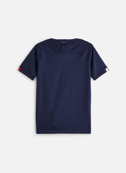 Vêtements Nike Short FFF Sleeve Top Bleu vue bas / vue portée sac