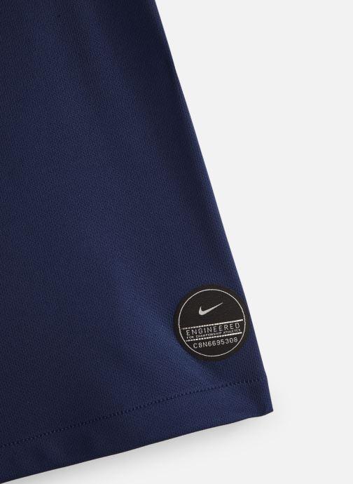 Vêtements Nike Short FFF Sleeve Top Bleu vue portées chaussures