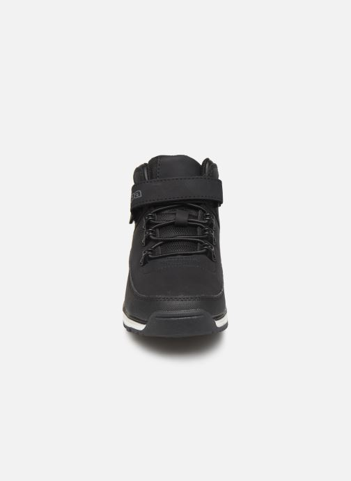 Baskets Kappa Monsi EV Noir vue portées chaussures